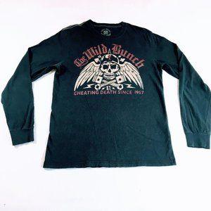 Lucky Brand Originals Wild Bunch LS Biker Tee